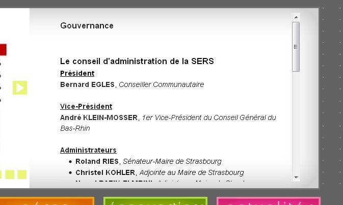 EGLES Bernard Président de la SERS