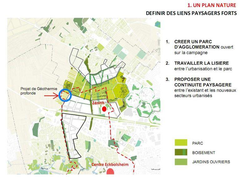 Plan nature ZAC de la Bruche